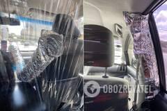 Показаны забавные способы защиты таксистов от COVID-19. Фото