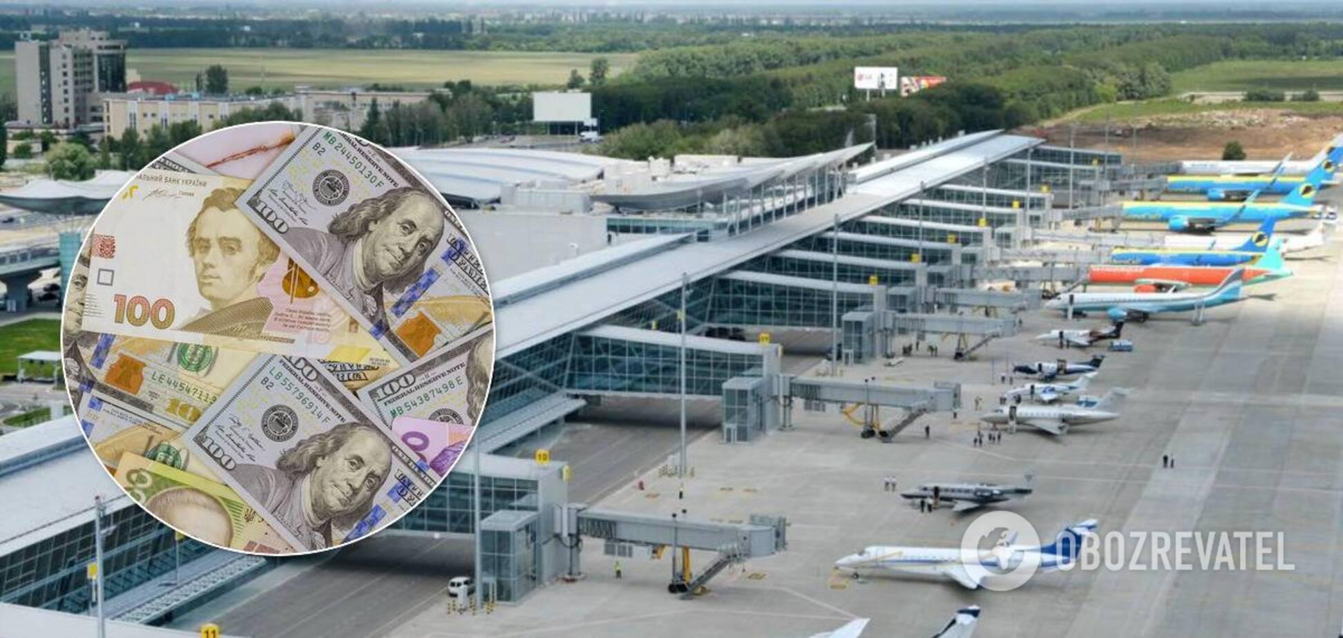 На реконструкции аэропорта 'Борисполь' разворовали почти 40 млн гривен