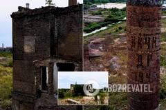 На месте заводов-гигантов в Константиновке остались лишь руины и пустыри