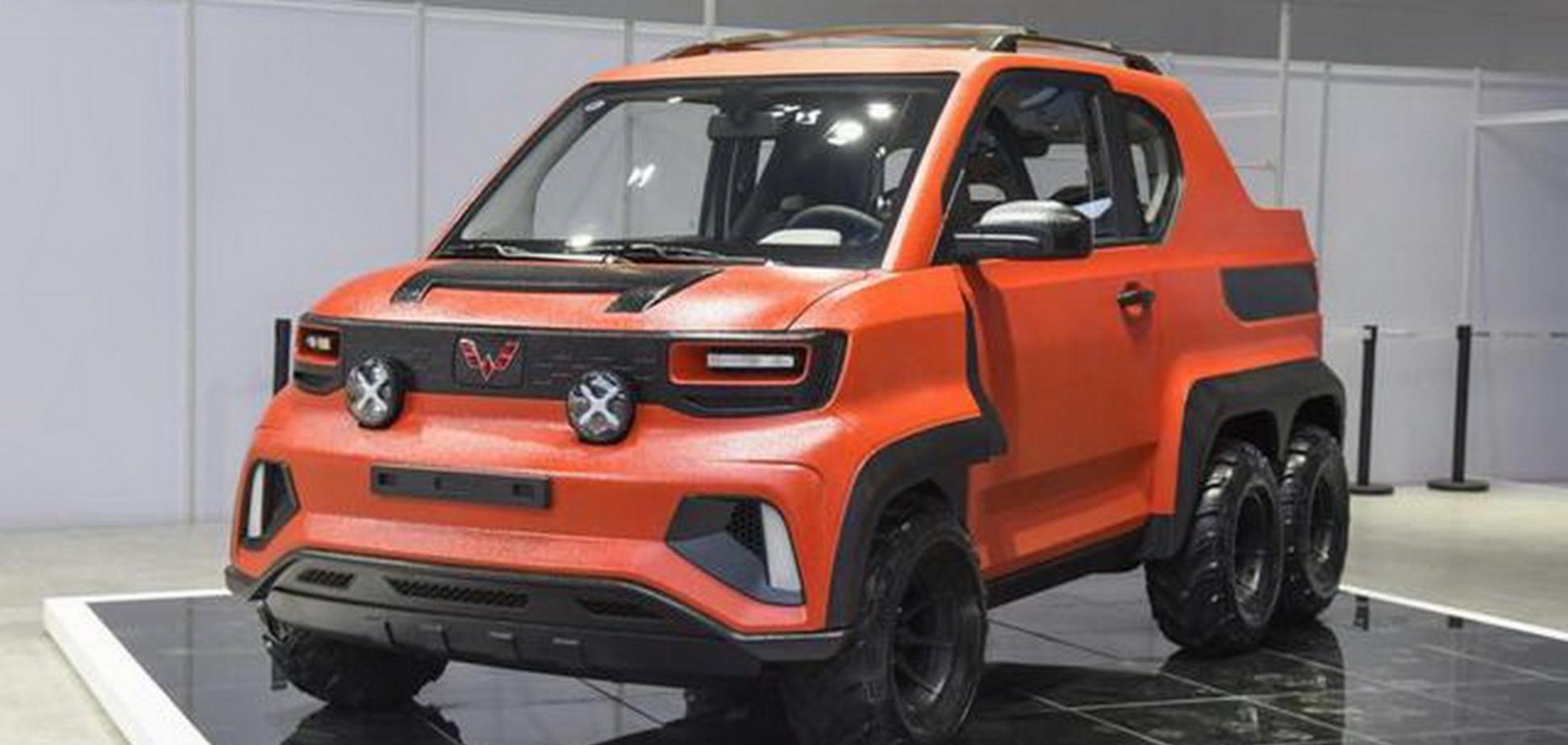 Компанія Wuling представила шестиколісний електричний пікап