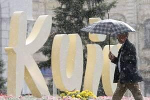 На Киевщину надвигаются дожди