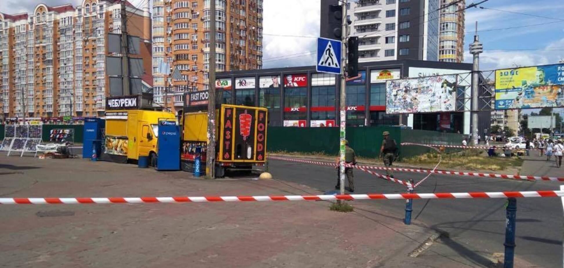 Мінування біля станції метро 'Мінська' у Києві