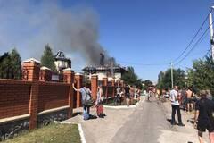 По ул. Курортной сгорела гостиница