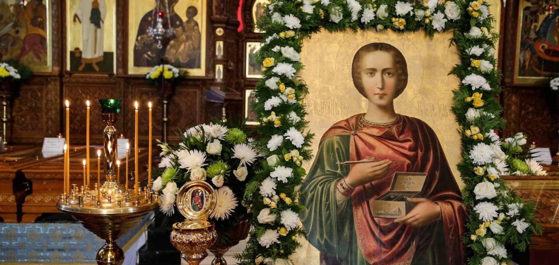 Великомученик Пантелеймон считается покровителем врачей, больных и военных