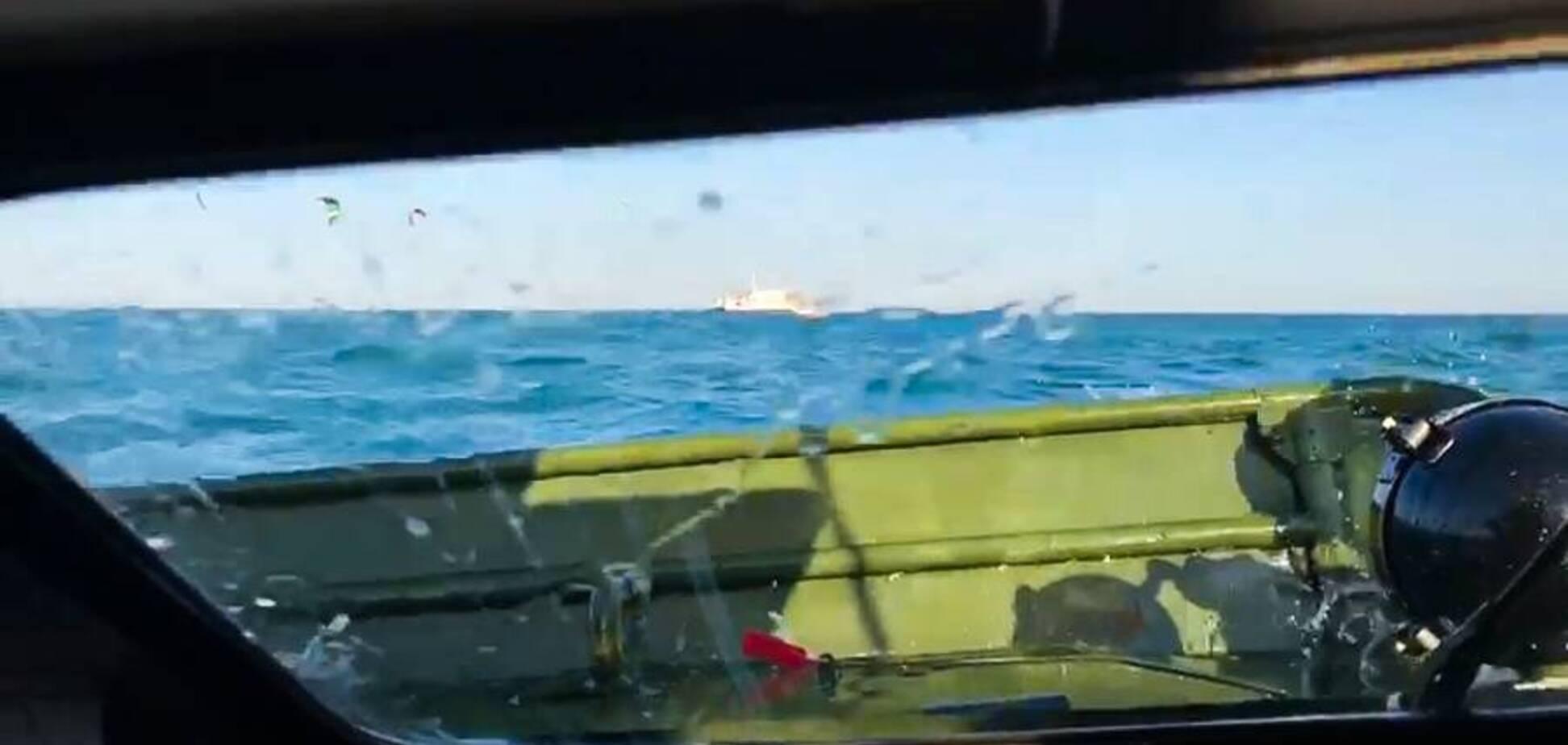 БРДМ-2 затонула під час форсування Керченської протоки