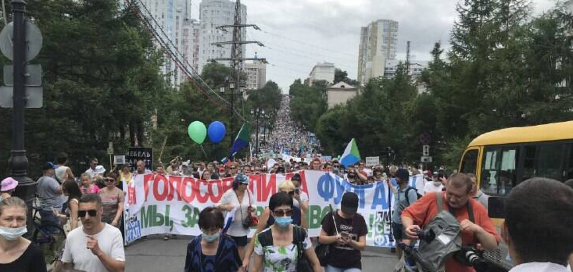 У Росії спалахнула наймасштабніша акція протесту: вимагають скинути Путіна. Фото і відео