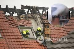В Везеле самолет врезался в дом