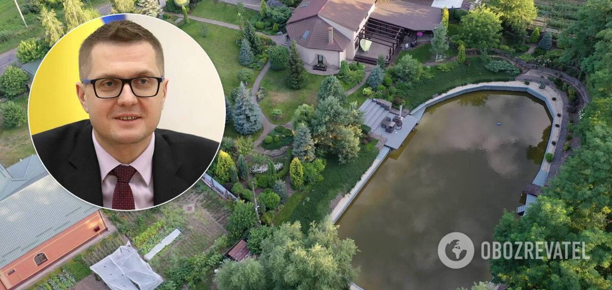 На участке Ивана Баканова есть персональное озеро