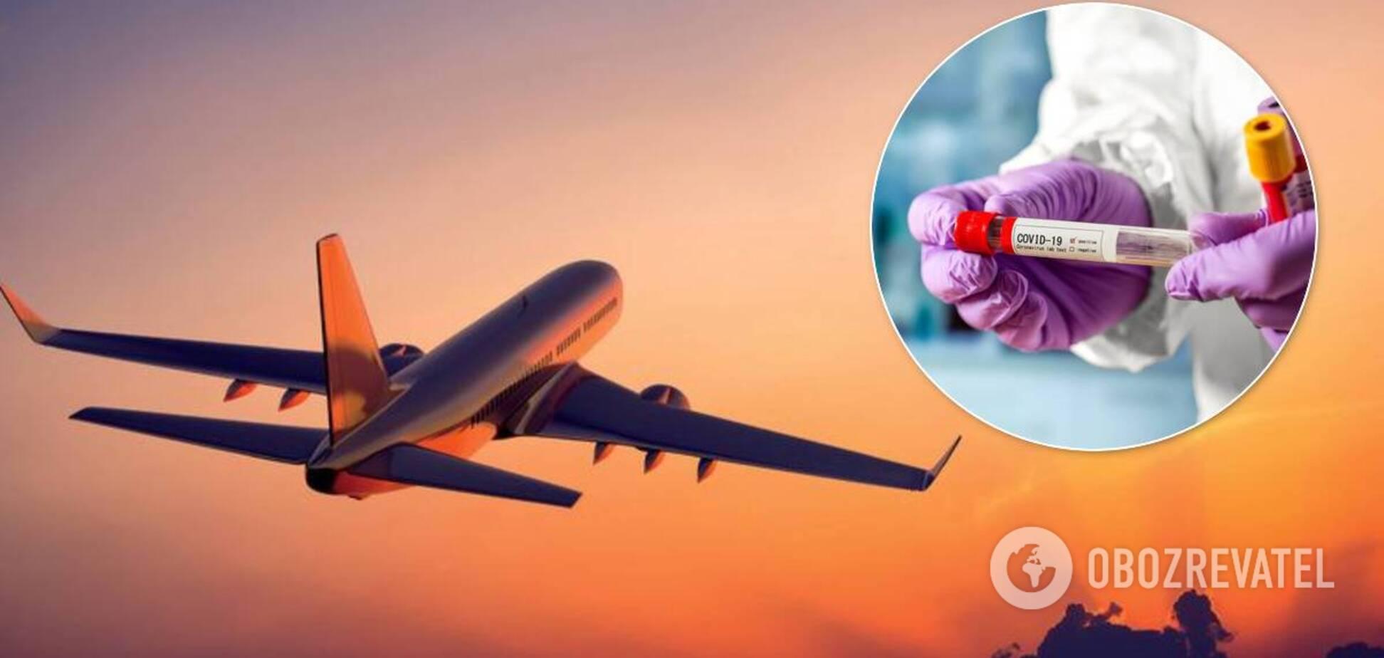 Коронавирус в самолете
