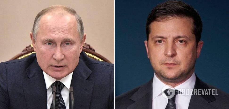 Путін і Зеленський