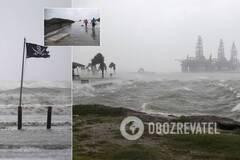 Ураган 'Ханна' обрушился на Техас