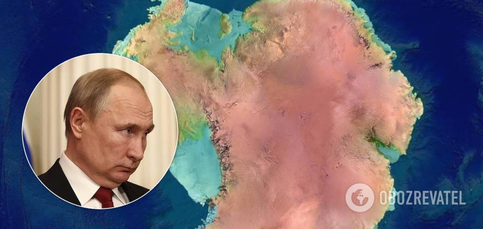 Владимир Путин напомнил, что Антарктиду 'открыли русские моряки'