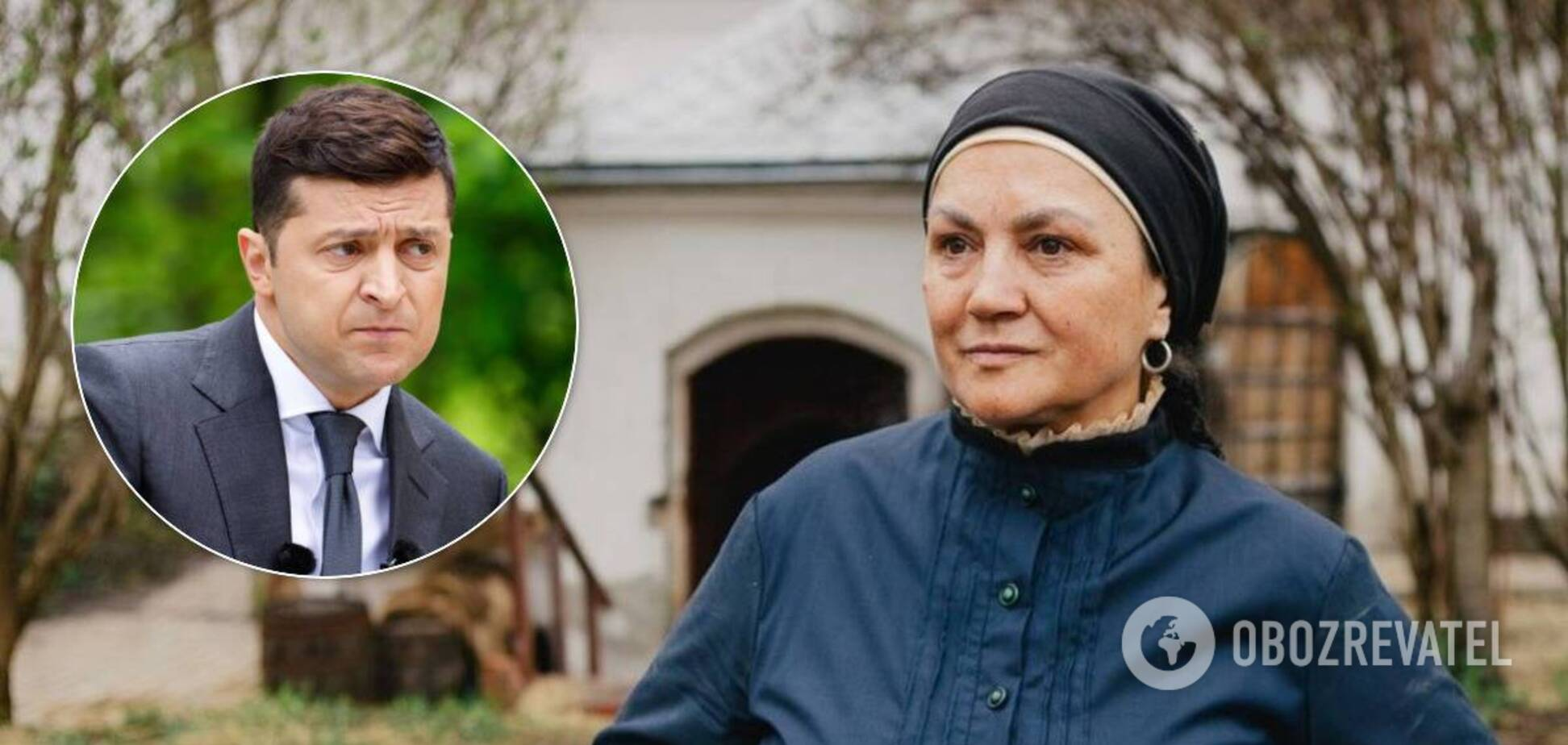 Наталья Сумская рассказала, как работала с Зеленским