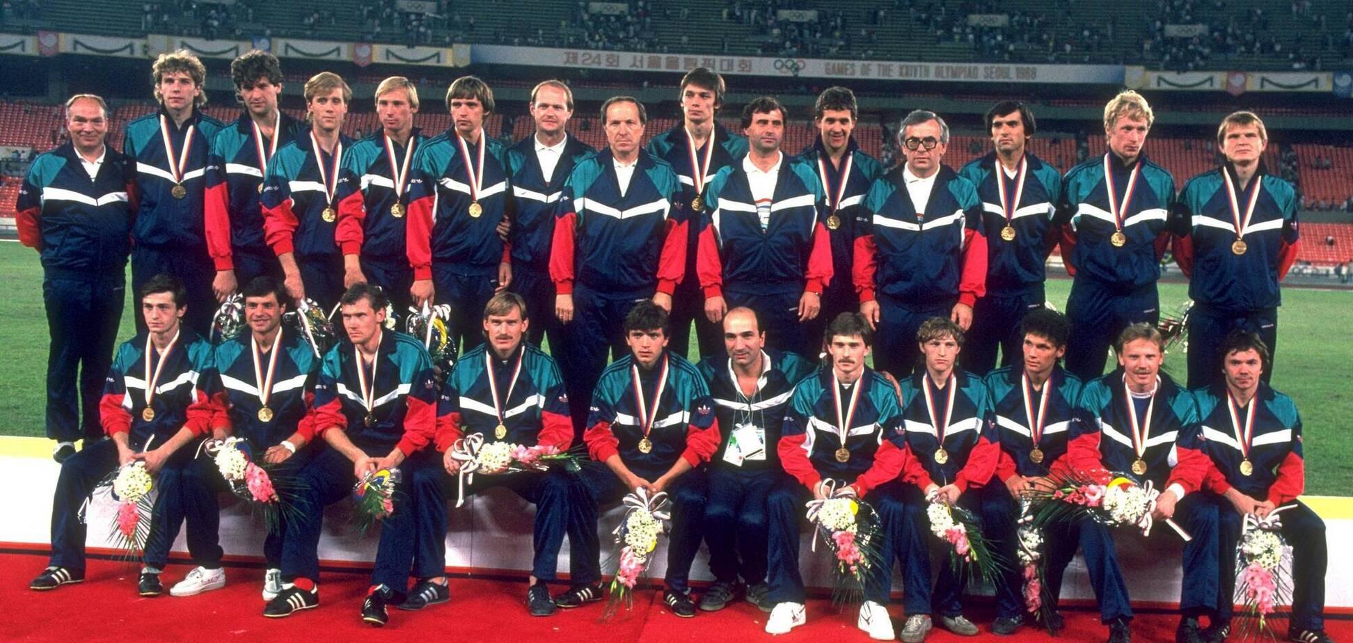 Олимпийская сборная СССР по футболу