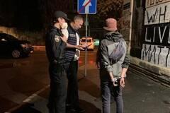 Кличко спіймав на вулиці Києва двох 'графітників' і викликав поліцію