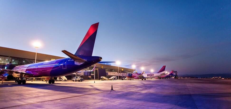 WizzAir анонсировала запуск 17 новых маршрутов между Украиной и Италией