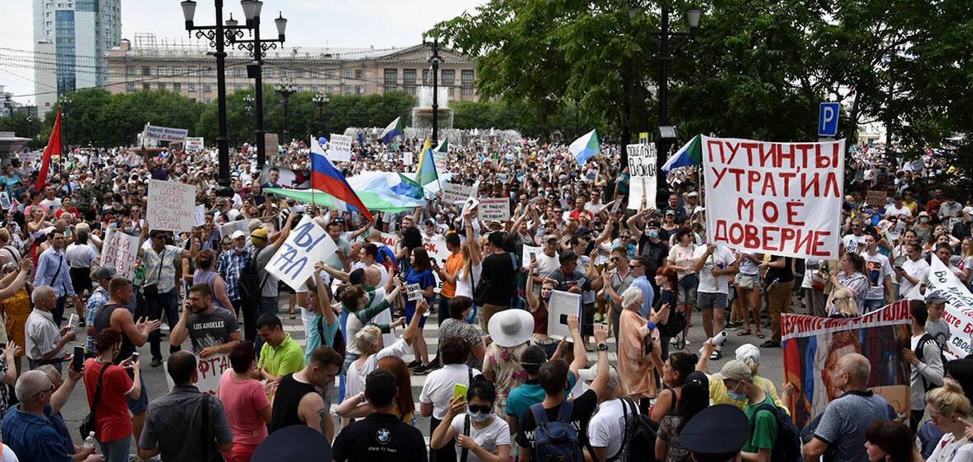Украинцы борются за страну без совка, а россияне за что?
