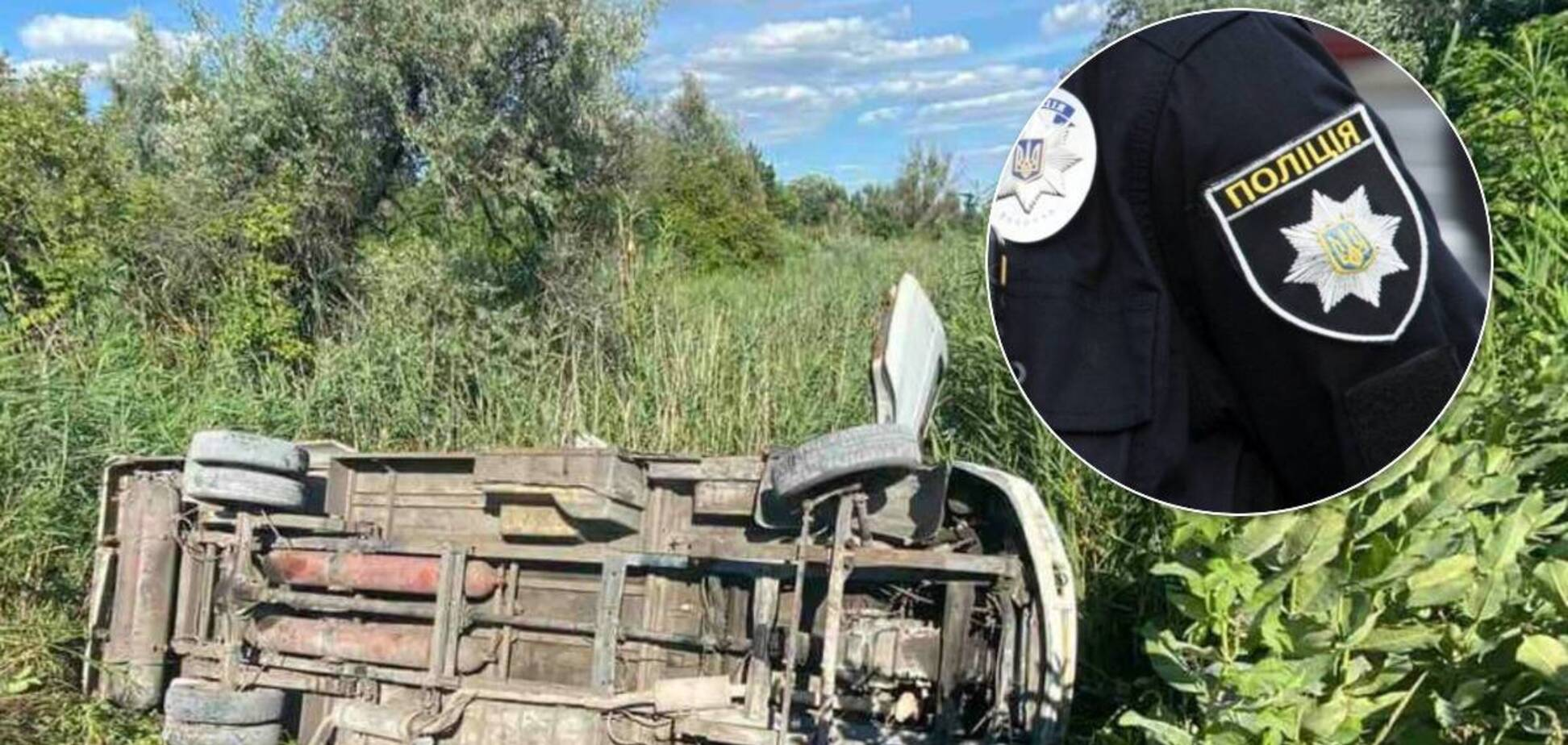 Поліція Дніпропетровщини через три доби зловила маршрутника, який втік після ДТП