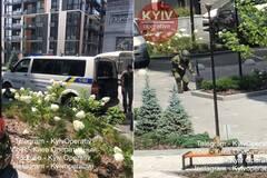 В Киеве во время волны минирований нашли подозрительный рюкзак