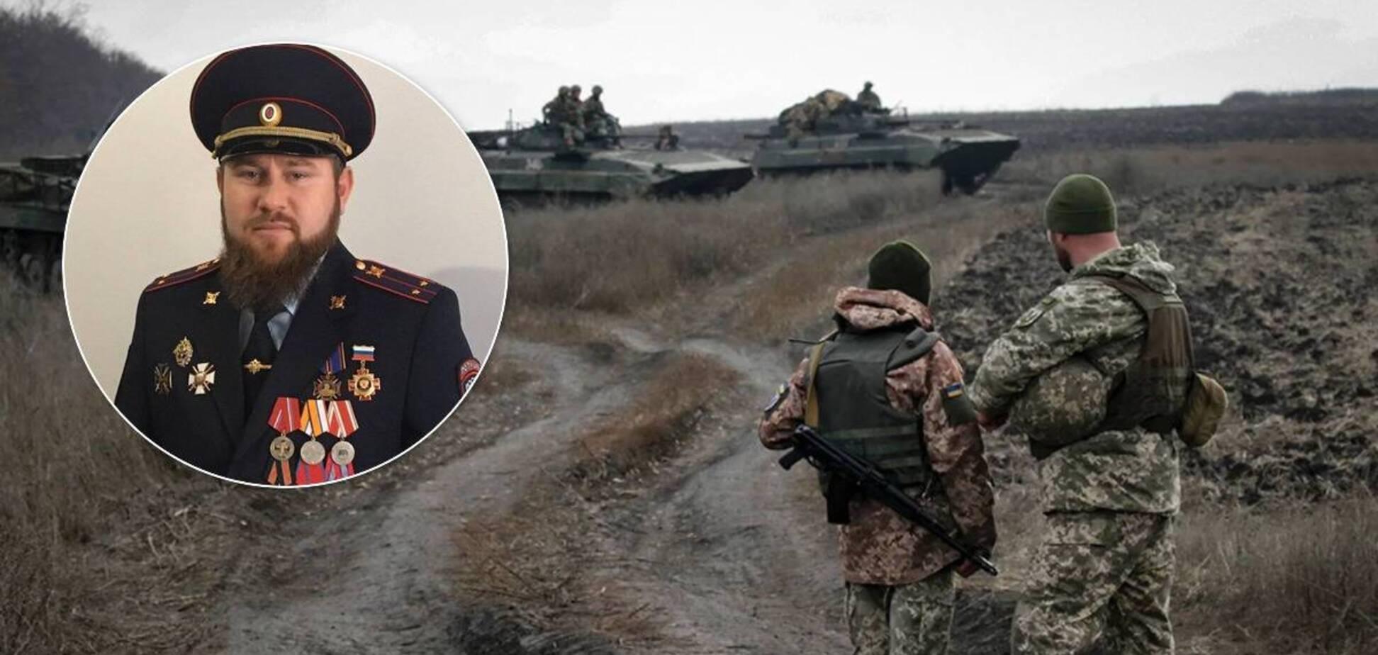 Боєць полку Кадирова проговорився, що воював проти України. Фото