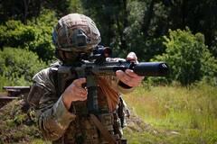 Спецназ Нацгвардии получил новые винтовки под калибр НАТО