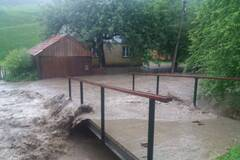 Потопы на Закарпатье. Фото - сайт ГСЧС