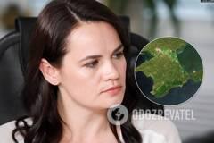 Тихановская ответила, чей Крым