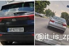 В Украине на одной дороге поймали два авто с одинаковыми номерами