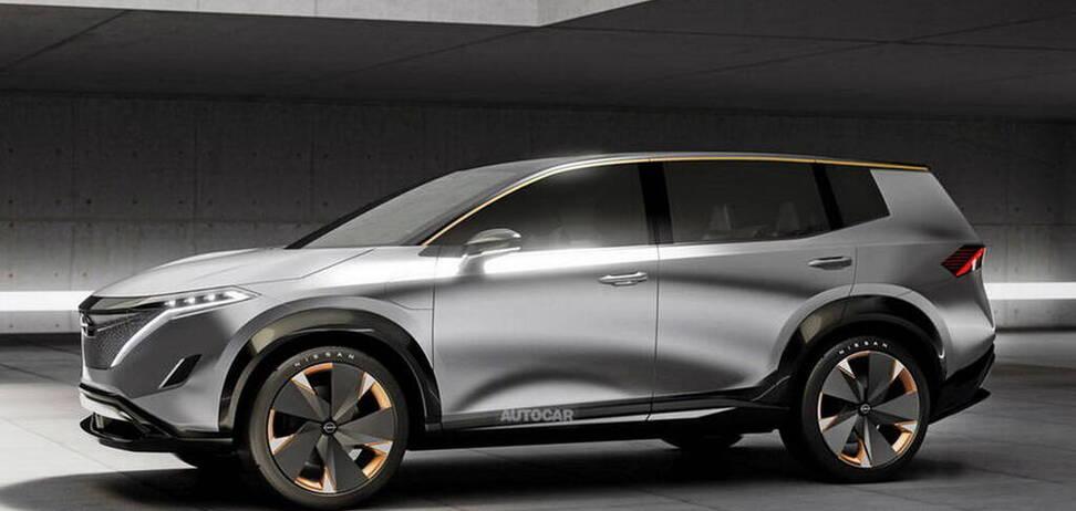 Nissan готовит большой электрический SUV