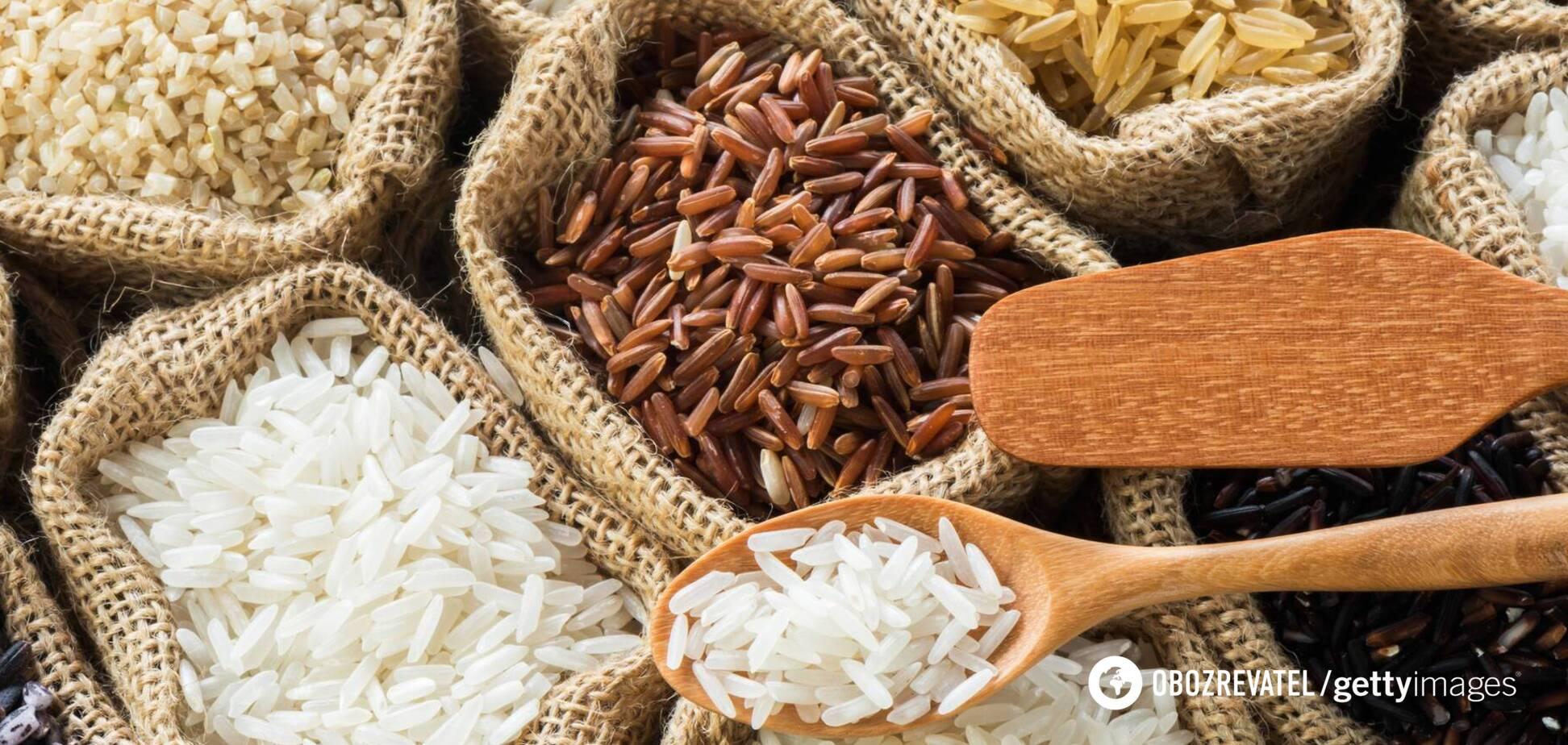 Коричневый рис содержит больше витамина Е, чем белый