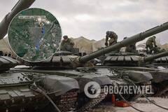 В сеть слили маршрут взвода танков РФ под Донецком