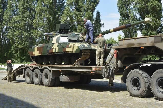 ВСУ усилили модернизированными танками 'Булат'. Фото