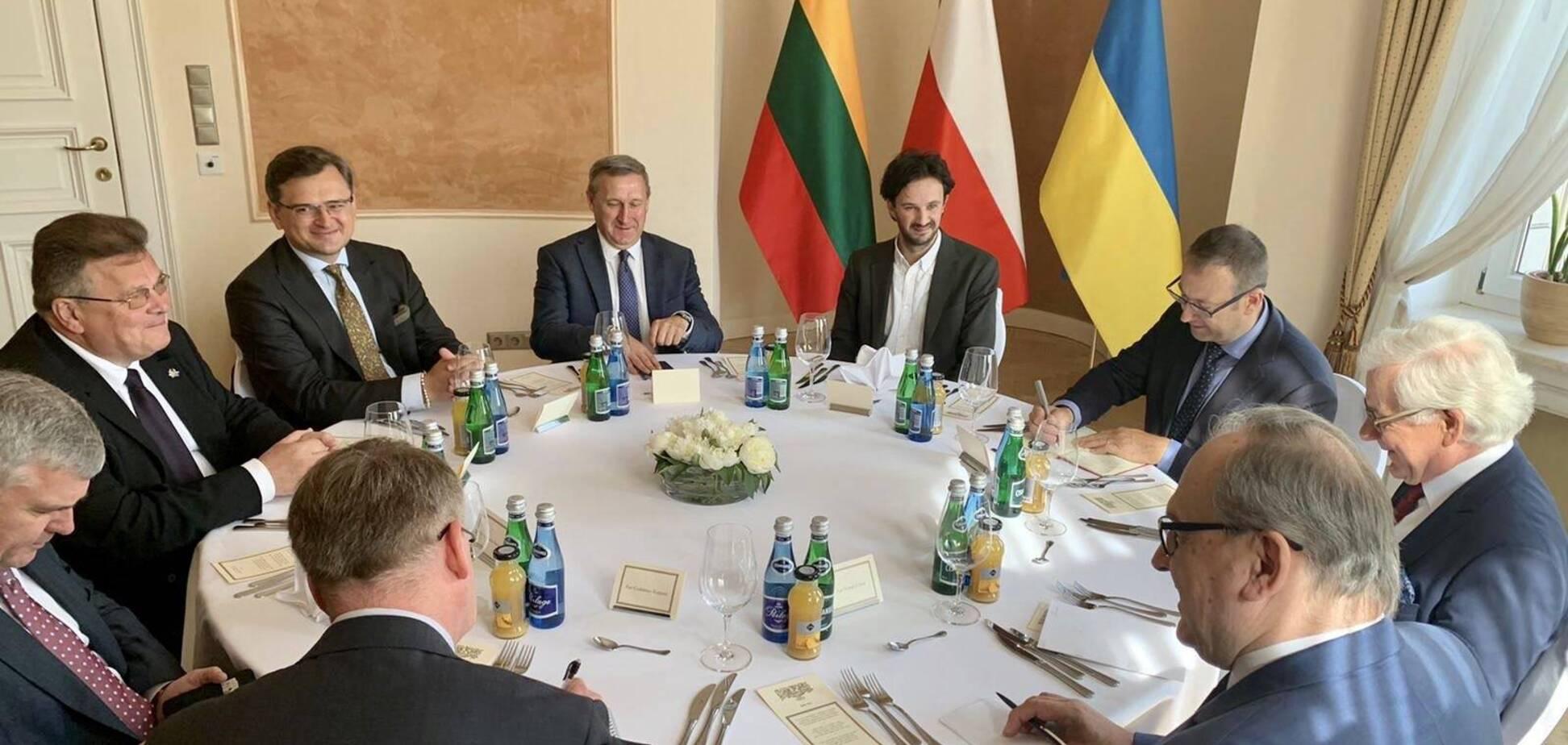 Польша, Литва и Украина создали 'Люблинский треугольник'
