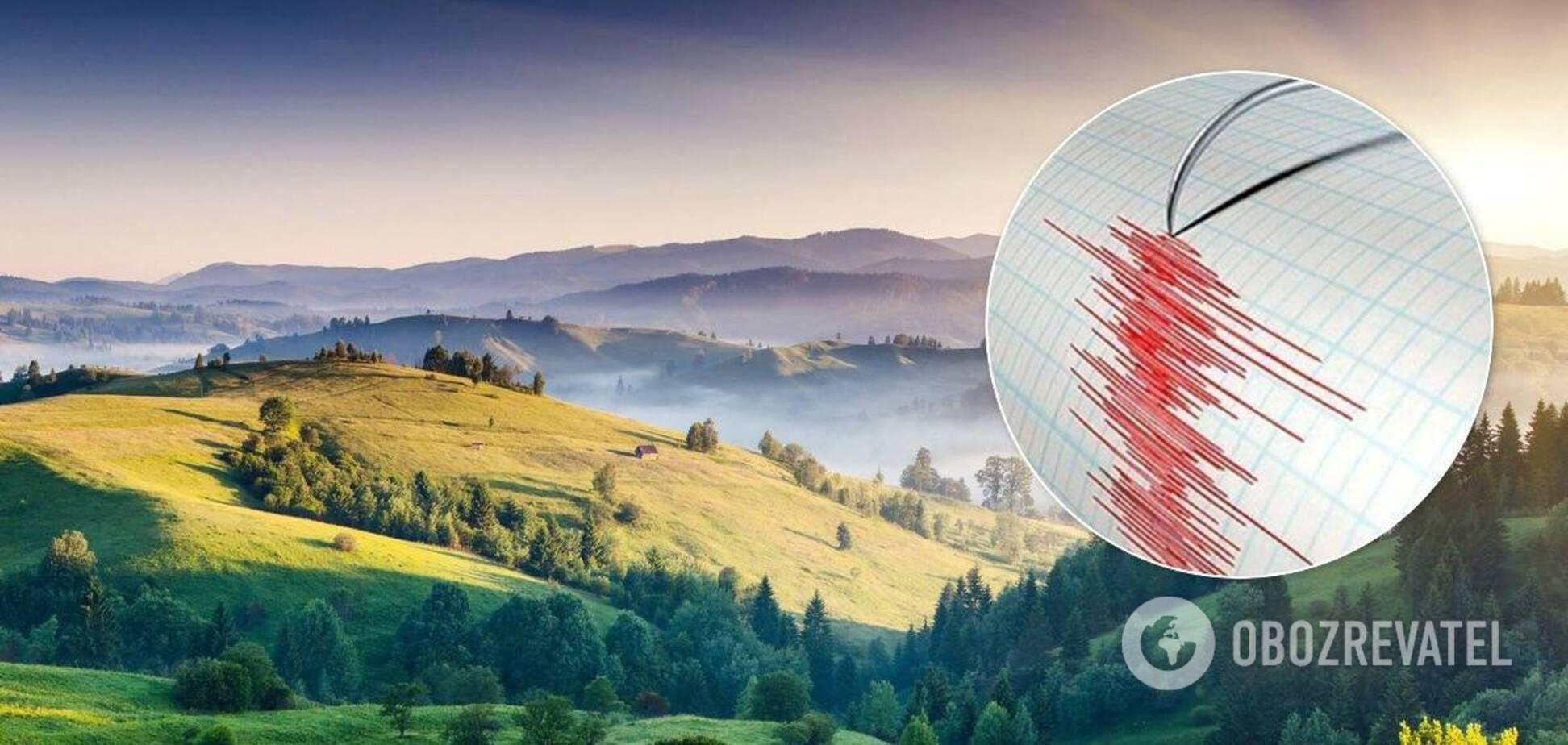 Землетрясение на Ивано-Франковщине
