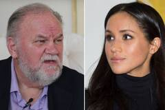 Меган Маркл и ее отец Томас