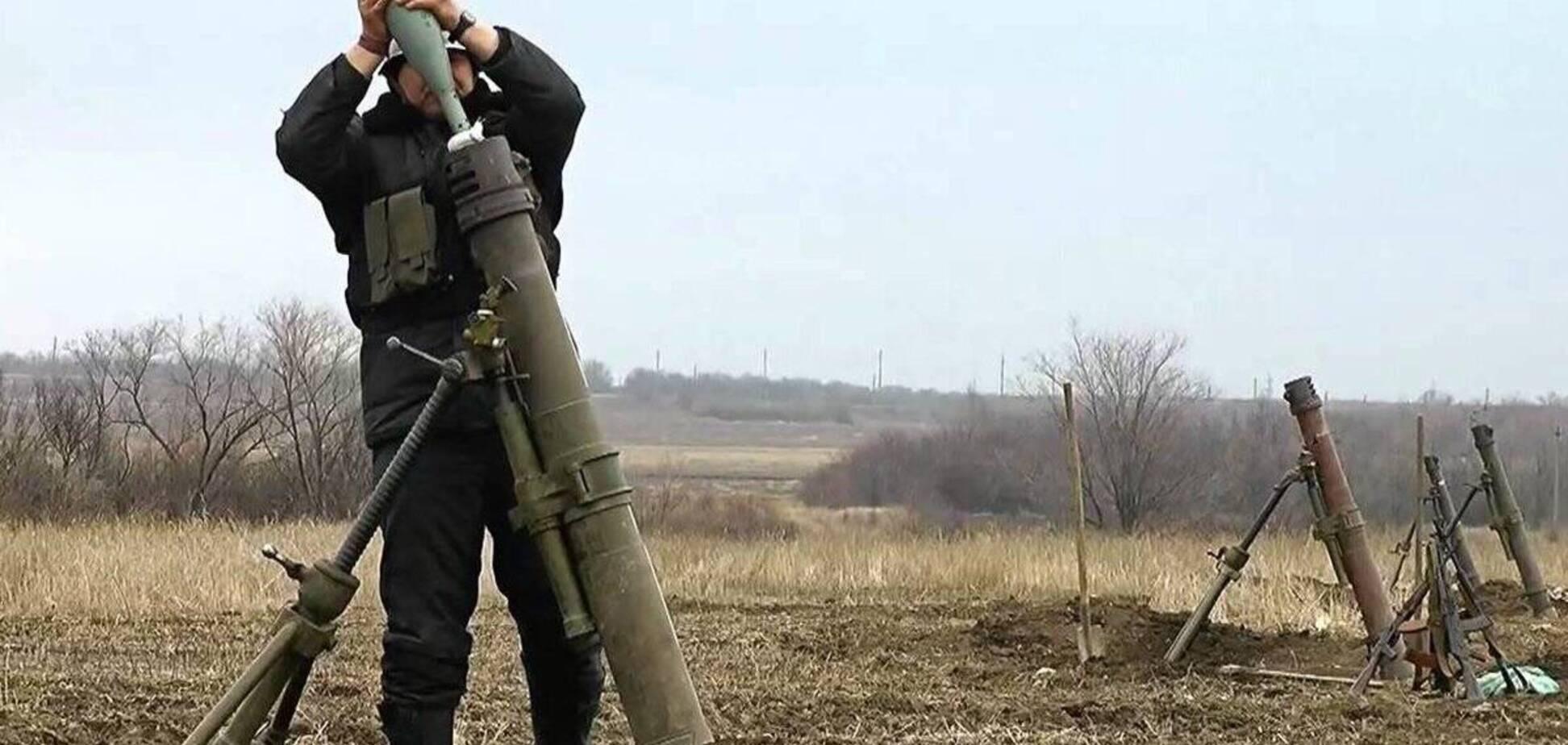Терористи з мінометів обстрілювали Луганськ в 2014 році