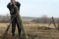 Террористы из минометов обстреливали Луганск в 2014 году