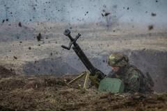Террористы ночью обстреляли позиции ВСУ из гарнатомета