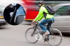 Водитель авто избил велосипедиста в Киеве
