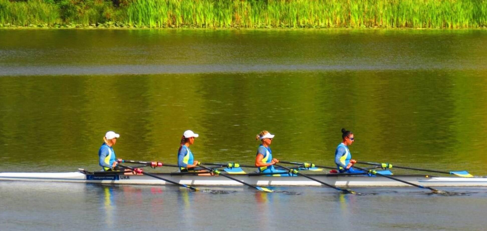 У Дніпрі пройшов чемпіонат України з академічного веслування (фото: Департамент молоді та спорту КМДА)