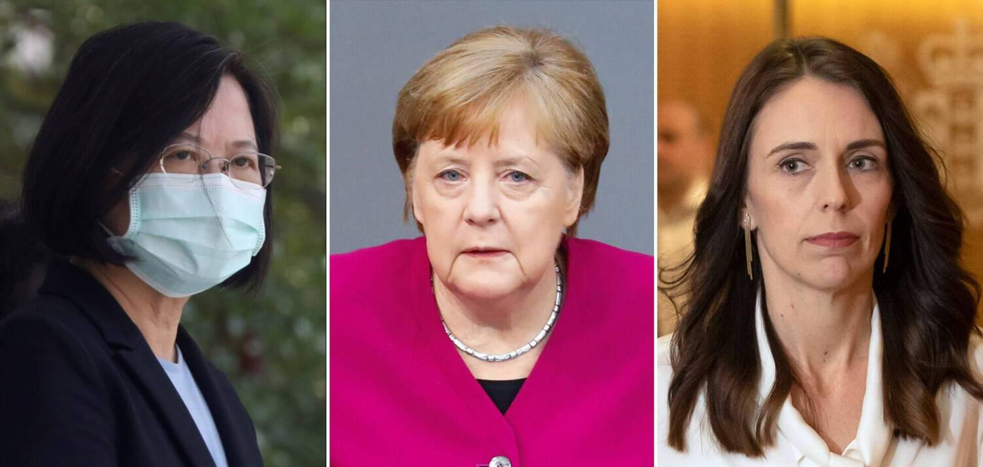 Жінки-лідери країн успішніше впоралися з коронавірусом. Джерело: gazeta.ru