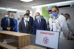 Зеленский со Степановым открыли новый корпус 'Охматдета' в Киеве