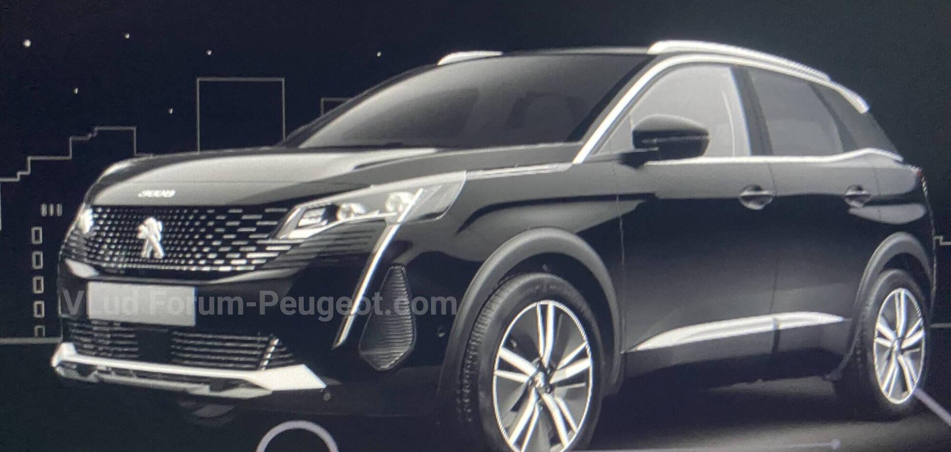 Так буде виглядати новий Peugeot 3008. Фото: forum-peugeot.com