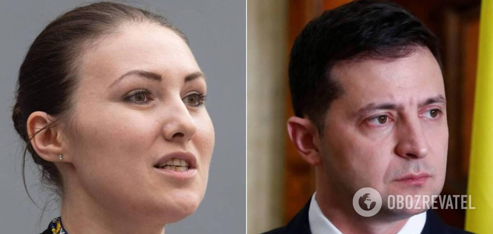 Федині вручили обвинувальний акт у 'справі' щодо погроз Зеленському: вона потужно звернулася до президента