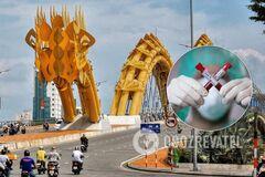 На популярному курорті у В'єтнамі – спалах коронавірусу нового типу