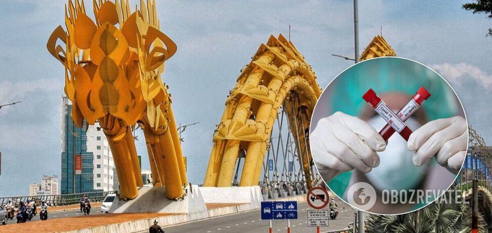 На популярном курорте во Вьетнаме – вспышка коронавируса нового типа