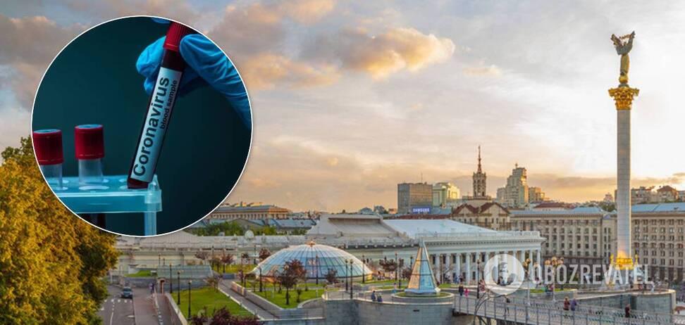 В Киеве за сутки коронавирус обнаружили у более чем 130 человек. Иллюстрация