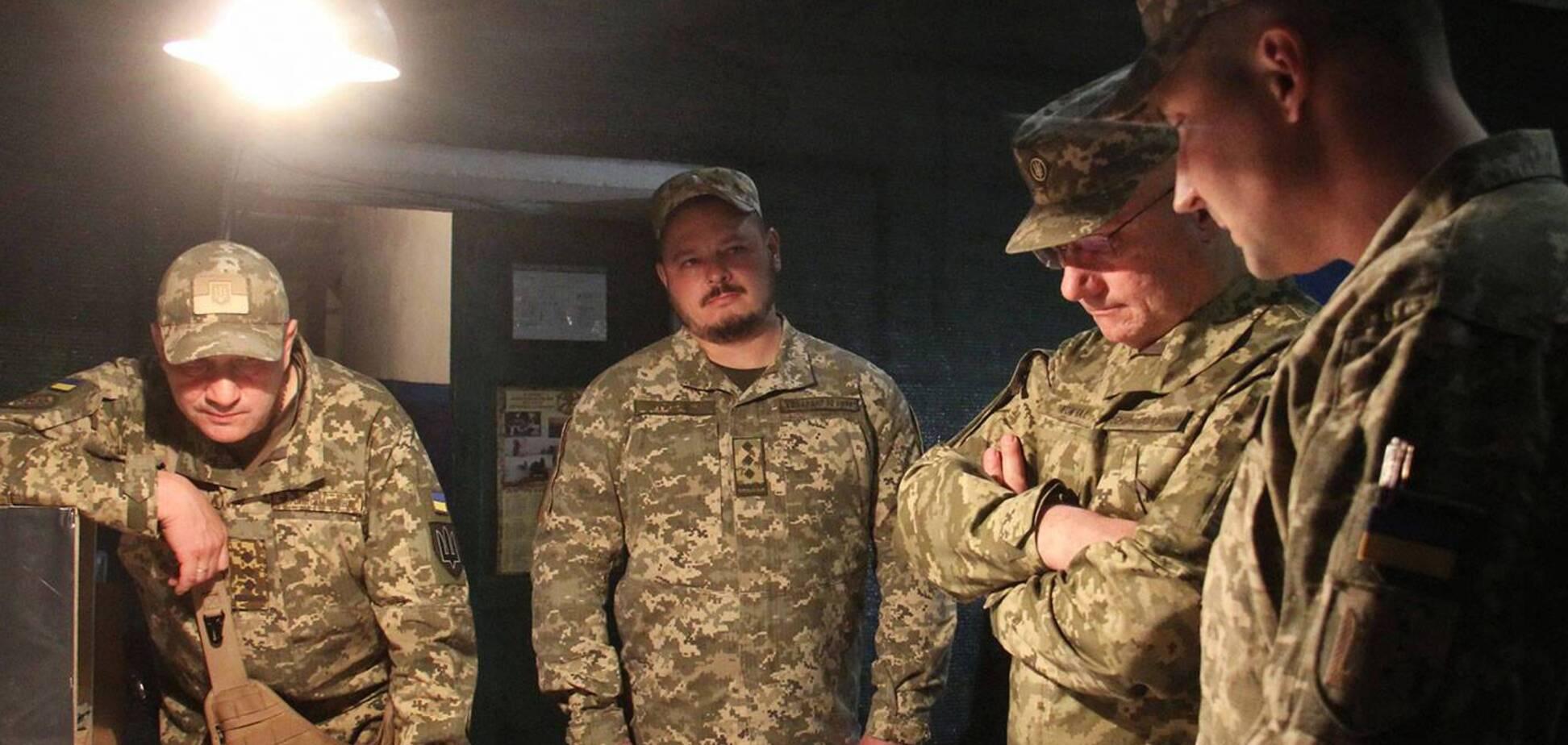 Хомчак заявив про відсутність загиблих і поранених з початку перемир'я на Донбасі