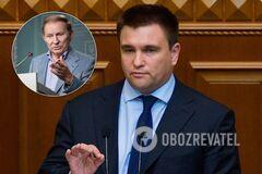 Клімкін вважає, що Кучма може повернутися в ТКГ