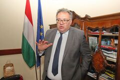 Иштван Ийдярто заявил, что Венгрия не против перпективы членства Украины в НАТО
